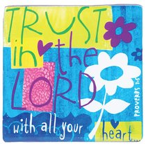Ceramic Magnet: Trust in the Lord