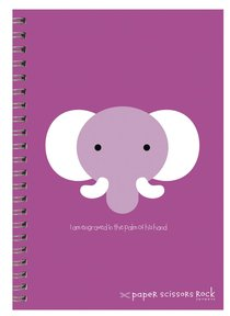 Unisex Ark A5 Spiral Notepads: I Am Engraved in the Pain of His Hands