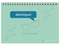 Boys Adventure A4 Spiral Sketchpad: Be Strong and Courageous