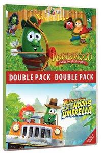 Minnesota Cuke Noahs Umbrella/Robin Good (Veggie Tales Visual Double Feature Series)