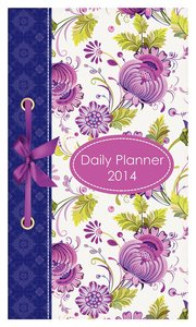 2014 Daily Planner: The Joy of the Lord (Purple Flowers)