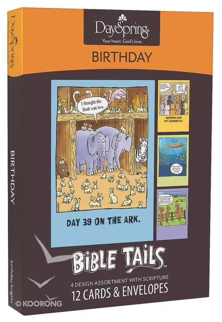 Buy Boxed Cards Birthday Bible Tails Online