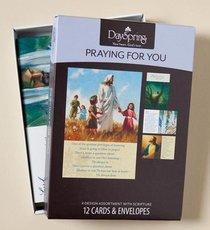 Boxed Cards Thinking of You: Joyful Thoughts