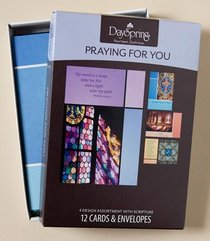 Boxed Cards Praying For You: Colours of Hope