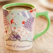 Classic Mug: Redeemed Patchwork, Psalm 29:11