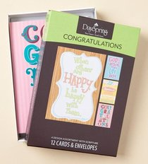 Boxed Cards Congratulations: General
