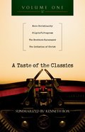 A Taste of the Classics (Volume 1) (#01 in Taste Of The Classics Series)