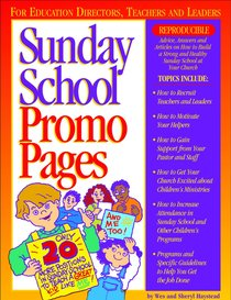 Sunday School Promo Pages