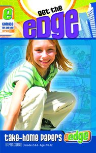 Gllw Springa 2018 Grades 5&6 Get the Edge Comics (Gospel Light Living Word Series)