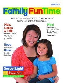 Gllw Winterb 2019 Ages 2/3 4/5 Family Funtime Pages (Gospel Light Living Word Series)
