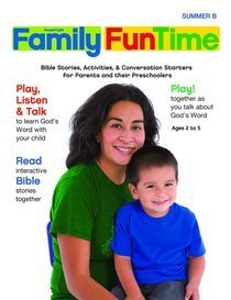 Gllw Summerb 2017/2018 Ages 2-5 Family Funtime Pages (Gospel Light Living Word Series)