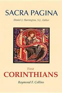 First Corinthians (#07 in Sacra Pagina Series)