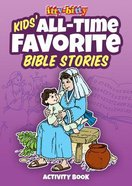 Itty Bitty Bible: Activity Book All-time Favorite Bible Stories