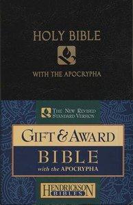NRSV Gift & Award Bible With Apocrypha Black