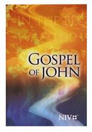 NIV Gospel Of John Pocket: Gods Word
