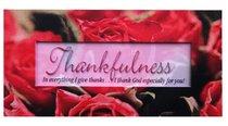 Promises Easled Magnet: Thankfulness