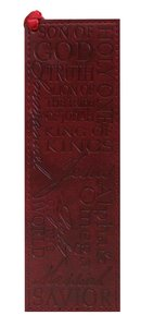 Bookmark: Names of Jesus Luxleather