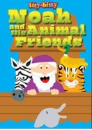 Itty Bitty Bible: Activity Book Noah And The Animal Friends