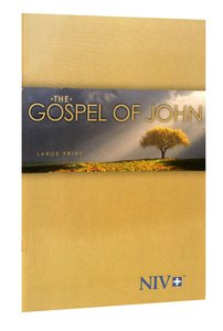 NIV Gospel of John Large Print: Tree Cover