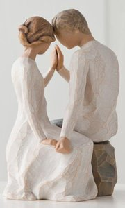 Willow Tree Figurine: Around You, Just the Nearness of You