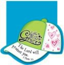 Notepad Die-Cut: Little Miss Grace the Lord Will Protect You