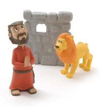 Daniel and the Lions Den (Tales Of Glory Toys Series)