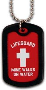 Faith Dog Tag Lifeguard