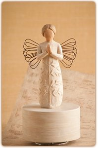 Willow Tree Musical Figurine: A Tree a Prayer, Plays Amazing Grace