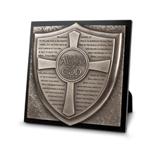 Full Armor of God Moments of Faith Sculpture Plaque