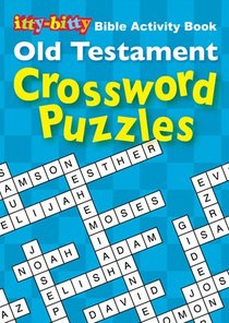 Activity Book Old Testament Crossword Puzzles (Itty Bitty Bible Series)