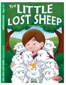 The Little Lost Sheep (Ages 4-7, Reproducible) (Warner Press Colouring & Activity Books Series)