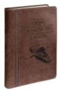 Journal: Those Who Hope in the Lord, Eagle Brown Luxleather