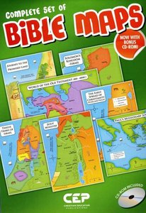 Complete Set of Bible Maps Set of 12 (Includes Cd-rom)