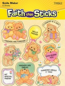 Friendship (6 Sheets, 48 Stickers) (Stickers Faith That Sticks Series)