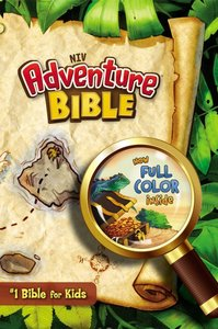 NIV Adventure Bible Indexed (Black Letter Edition)