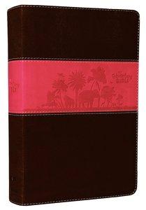 NIV Adventure Bible Chocolate/Hot Pink Duo-Tone