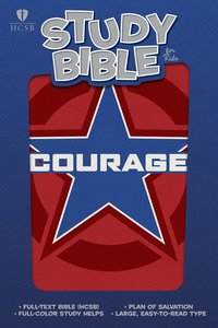 HCSB Study Bible For Kids Courage