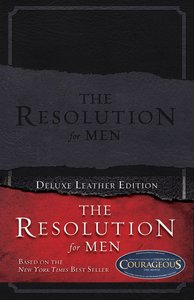 The Resolution For Men (Deluxe Leather Edition)