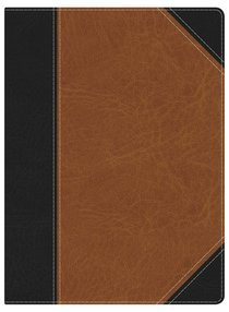 NKJV Holman Study Indexed Bible Black/Tan