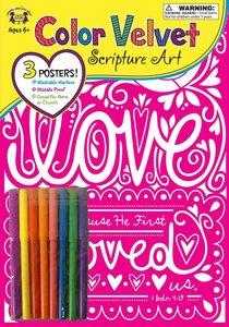 Colour Velvet Art: Love 1 John 4:19