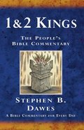 1&2 Kings (Peoples Bible Commentary Series)
