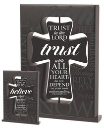 Crosses Flip: Trust/Believe (Black)