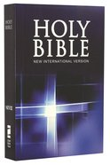 NIV Compact Thinline Blue Cross Bible
