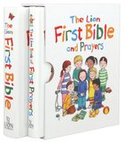 The Lion First Bible and Prayers (Slipcase Set - Mini Editions)