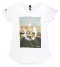 T-Shirt: #Wearen Mali Tee Womens Medium White