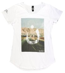 T-Shirt: #Wearen Mali Tee Womens X-Large White