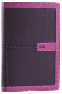NIV Thinline Bible Dark Orchid/Grape Duo-Tone (Red Letter Edition)