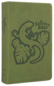 NIRV Adventure Bible For Early Readers Jungle Green