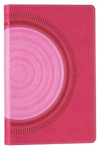 NIV Bible For Teens Pink/Red (Red Letter Edition)