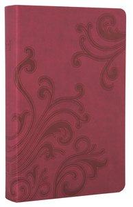 NKJV Gift Bible Berry Leathersoft